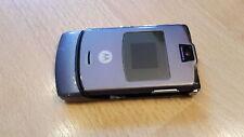 Motorola RAZR v3 GRIGIO + simlockfrei + + CELLULARE PIEGHEVOLE CON PELLICOLA + come nuovo