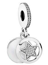 Pandora Perle Ciondolo Silver Star 792148en23 Amicizia CIRCONITA