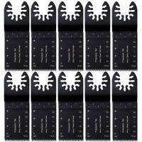 20 PCS Universal Oscillating Multi Tool Saw 34mm Blades Carbon Steel Cutter DIY