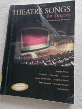 Theatre Songs Singers 38 Songs 38 Shows Voice Piano Guitar Unmarked