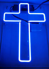 "cross HOME LAMP LED Beer Bar Club Superman Macross POSTER NEON LIGHT SIGN 12""X8"""