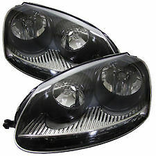 Golf mk5 pair of headlights brand new right and left o/s n/s 2004-2009