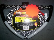 Airhead Bling Stealth Wakeboard Rope ahwr-11bl Black Low Stretch