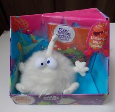 Fisher Price Not So Scary Bouncy Monster  Cuddly Critters Book Plush Toy New