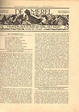 JAARGANG DE MEREL/ZUIGELING EN KLEUTER 1933 - Mien Labberton (redactie)
