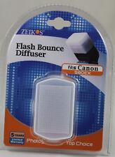 Professional Flash Bounce Diffuser For Canon 580EX 580EXII YN568EX YN560 YN568