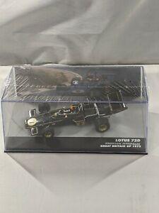 Emerson Fittipaldi, World Champion 1972 Lotus 72D 1:43 ALTAYA