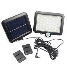 56 LED Solar Power Motion Sensor Waterproof Outdoor Garden Security Lamp Light