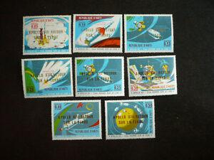 Stamps - Haiti - Scott# 656, 656a-656d, 656g, 656h, 656j