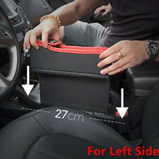 1PC Car Seat Gap Catcher Pocket Coin Storage w/Cup Holder For Left Side Pretty