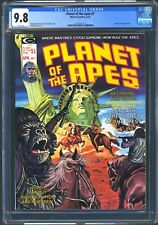 MARVEL COMICS  - PLANET OF THE APES #7 - CGC 9.8 WP - NM/MT STATUE OF LIBERTY