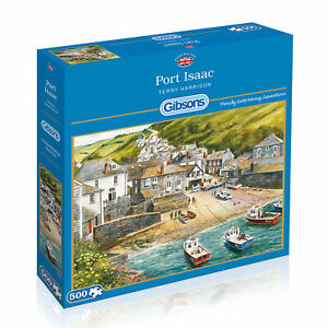 Gibsons Jigsaw Puzzle 500 Piece Port Isaac