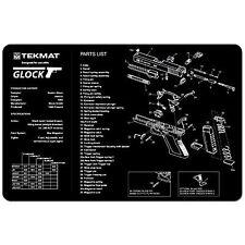 ARMOURERS GUN CLEANING NON SLIP BENCH MAT TEKMAT for GLOCK 17 19 22 ALL MODELS