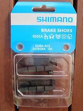 SHIMANO DURA ACE 9000 R55C4 BRAKE PAD INSERTS 2 PAIR ULTEGRA 105 **NEW**