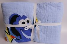 New/washed Pottery Barn Kids Finding Nemo Full Queen FQ quilt Disney Pixar