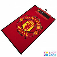 MANCHESTER UNITED FC RED MAT CARPET RUG BEDROOM OFFICIAL FOOTBALL SOCCER CLUB