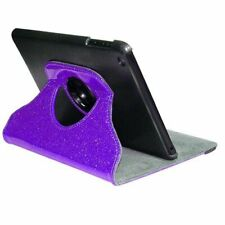 NEW - IN CASE - 360° Rotating Case for the iPad Mini - Purple Glitter