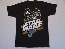 St. Louis Blues Star Wars Night SGA T Shirt sz M Medium Darth Vader NHL Black
