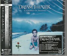 A Change of Seasons  Dream Theater (CD, Sep-2017) Japan Import SHM-CD Sealed