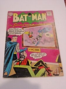 DC BATMAN NO 131 THE SECOND BATMAN AND ROBIN TEAM, SILVER AGE