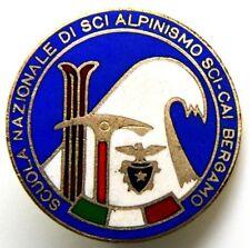Spilla Scuola Nazionale Di Sci Alpinismo Sci CAI Bergamo (F.M. Lorioli Fratelli)