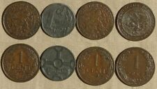 Netherlands : Lot 4 Coins 1 Ct (1913-VF; 1906;1927;1941-VF-XF )  IR265