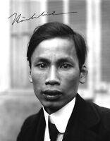 HO CHI MINH - Repro-Autogramm 20x25 cm Großfoto (Hồ Chí Minh), repro signed
