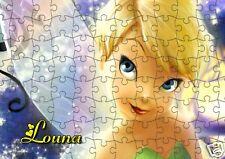 puzzle LA FEE CLOCHETTE  REF 30GM - 252 PIECES AVEC OU SANS  PRENOM