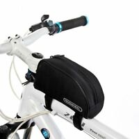 Roswheel 1L Bicycle Mountain Bike Cycling Frame Front Top Tube Bag Pouch Pannier