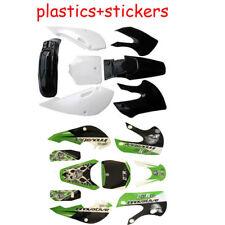Kawasaki Thick Quality Stickers Plastic Kit Fr KLX 110 KLX110 DRZ KX 65 Pit Bike