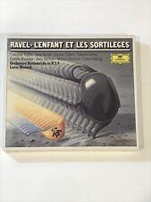 RAVEL - `L'Enfant et les Sortileges' CD Album. L.Mazel. (DG, CD). New & Sealed.