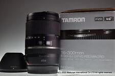 Casi Mint Tamron Af 16-300mm F/3.5-6.3 Di II Vc Pzd Macro B016E para Canon