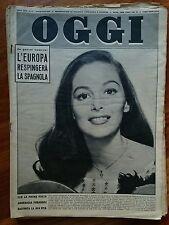 Rivista Oggi 1957 n°25 AnnaMaria Pierangeli