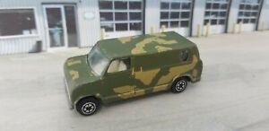 Vintage Yatming Yat Ming Universal Studios Military Army Van #1501 Die-Cast Car