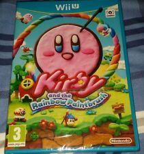 Kirby and the Rainbow Paintbrush Nintendo Wii U Brand New & Sealed PAL