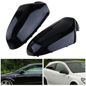 Pair Door Wing Mirror Cover for Opel Vauxhall Astra 2004-09 Saturn Astra 2008-10
