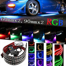 "24"" 36"" 4X RGB Tube LED Under Car Underglow Underbody Neon Strip Light For Dodge"
