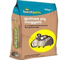 GUINEA PIG NUGGETS - (10kg) - Best Pets Animal Food bp Pellet Feed Meal Treats k