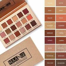 18 Colors Eye Shadow Palette Matte Glitter Makeup Shimmer Set Cosmetic Eyes L0Z3