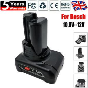 for Bosch Professional Battery 12V 4Ah 1600Z0002Y 1607A3506F BAT411 BAT420 10.8V