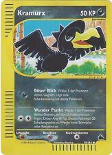 CCG 357 Pokemon Skyridge Reverse Holo Kramurx / Murkrow 79/144