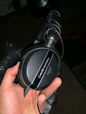 Audio-Technica QuietPoint ATH-ANC27 On-ear Noise Cancelling Headphones - Black