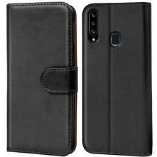 Book Case Samsung Galaxy A20s Hülle Flip Cover Handy Tasche Schutz Hülle Etui