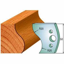 Cmt 690571 Profiled Knives For Shaper Cutters 1 3132 Cut Len 532 Thic 2 Pcs