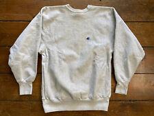 Vintage 90s Champion Reverse Weave Gray Crewneck Sweatshirt  Sz XL / XXL USA