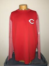 Majestic MLB Cincinnati Reds Therma Base Sweatshirt Men's 2XL NWOT