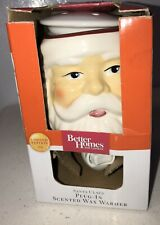 New Better Home & Gardens Santa Claus Plug-In Scented Wax Warmer Christmas