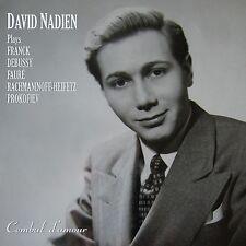 David Nadien, Violin, with Ruggiero Ricci Violin - An Historical Collaboration