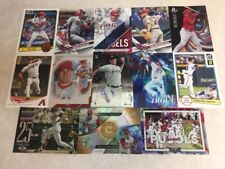 lot of 30 Angels GAME USED JERSEY AUTO Mike Trout Pujols Skaggs Simmons Heaney