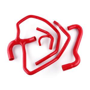 For manicotti acqua Fiat Cinquecento 500 sporting 1.1 Silicone Hose Kits Red